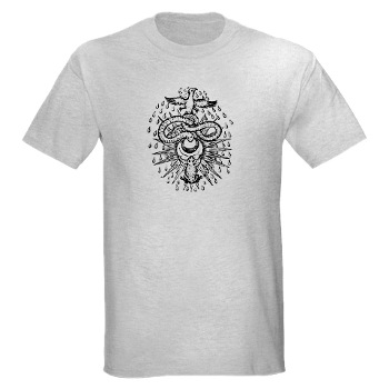Alchemical Drawing Symbol T-shirt