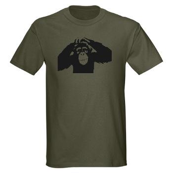 Chimpanzee Symbol T-shirt