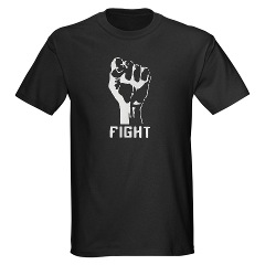 Fight Fist Symbol T-shirt