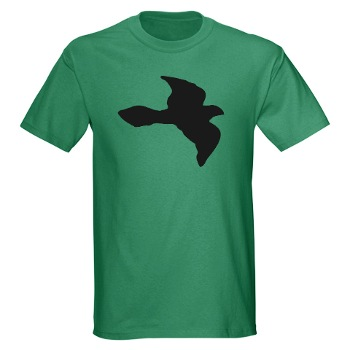Flying Bird Symbol T-shirt