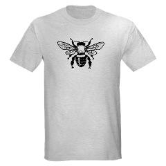 Honey Bee Symbol T-shit