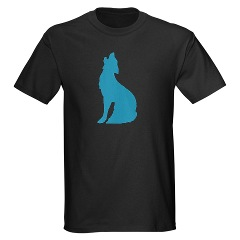 Howling Wolf Symbol T-shirt