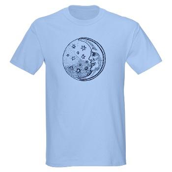 Moon Stars Symbol T-shirt